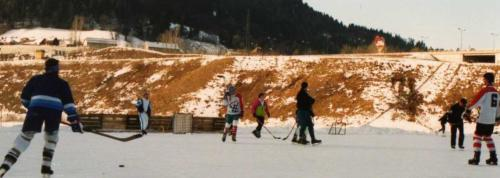 Eislaufplatz 1991-1992